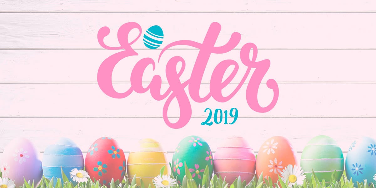 What is the date for easter 2019 in Brisbane